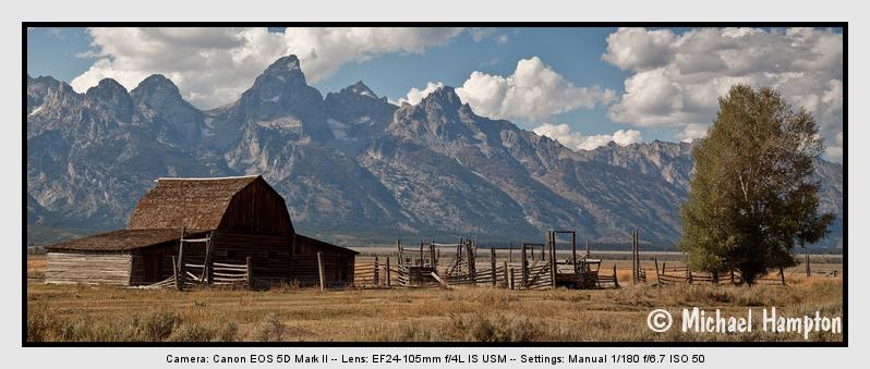 Wyoming barn photo