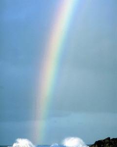 a Godly rainbow