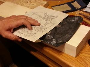 carbon paper design