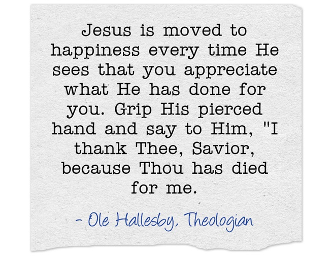 Prayer of Thanks and Praise